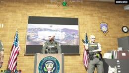Mag Dump for hostage cops