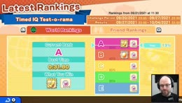I can't come to bed dear, I'm grinding warioware ladder