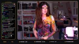 BODYPAINT -> Wonder Woman 1984