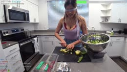 BLINDFOLDED COOKING | !newvid !editor !socials