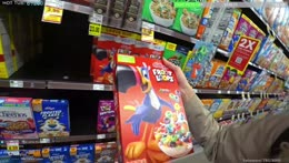 TRYING EVERY CEREAL IN THE WORLD | !newvid !editor !socials