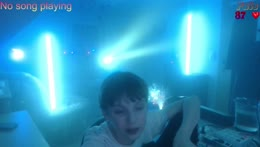 Heftige Party mit krasse Licht Show Wochenende Party Stream Aufbau | Epilepsie Warnung | Kommt gerne rein :)
