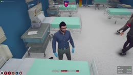 been hanging out with Ash too much XD hospital RP