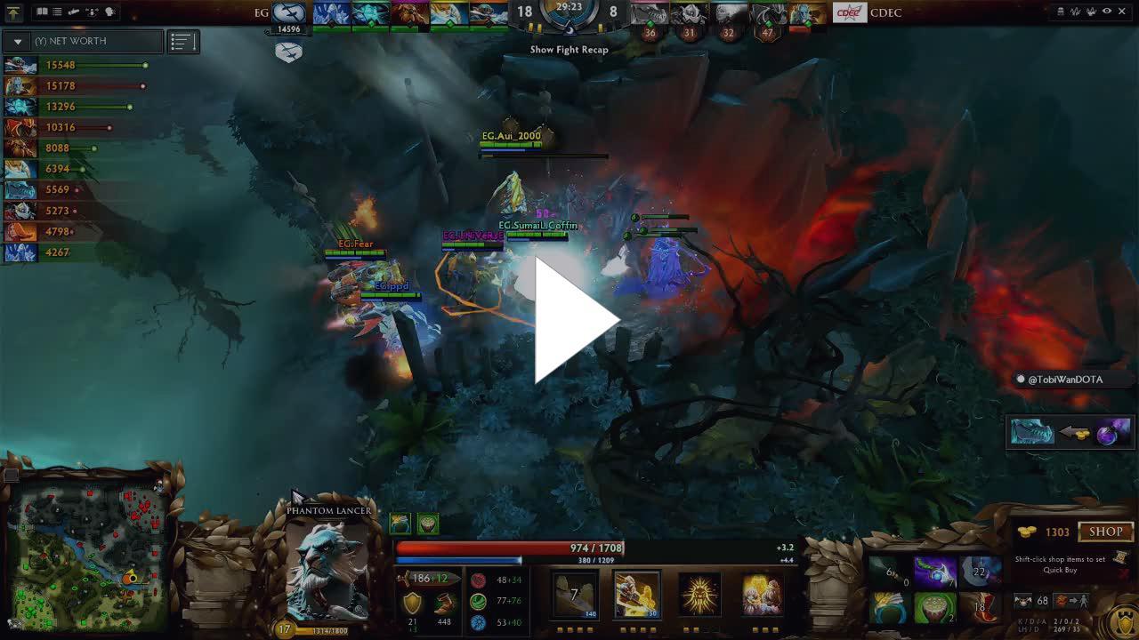 dota2ti - CDEC vs  EG - Game 4 - Grand Final - The