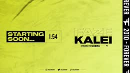 FaZe Kalei - #1 FEMALE ON WARZONE | Follow My Twitter - @KaleiRenay