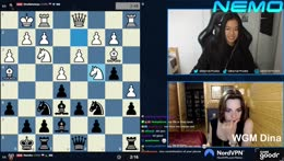 Match against Dina! | 12th of July - FIDE WOMEN'S WORLD CUP in Russia | !wealthsimple !brave !nord