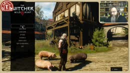 Pat Rothfuss Plays Witcher Crazy Early In the Morning because he just woke up.