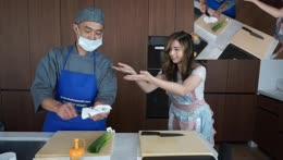 See you sunday to make sushi with pro chef @chefmaezaki ^_^