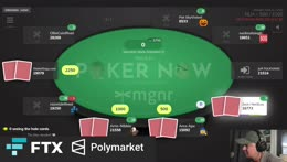 Crypto Poker Charity Tourney with Polymarket & FTX