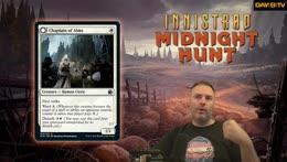 MTG Innistrad Midnight Hunt FULL CARD REVIEW //  Midnight Hunt Release Thursday & Friday!  //  Quern Monday  //  Midnight Hunt all next week