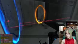 PORTAL 2 Playing Portal 2 for the first time!