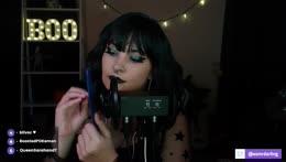 goth girl asmr 🖤