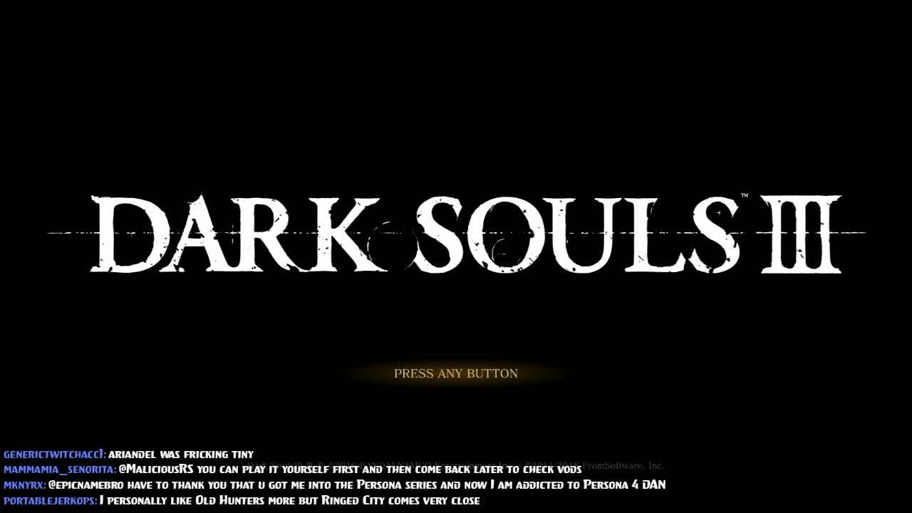 epicnamebro - Dark Souls 3: Darkness (1) - Twitch