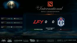 TI7 Group Stage Day4 LFY vs OG Game 1