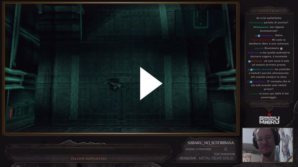 Metal Gear Solid w/ Sabaku - Twitch