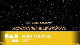 Acquisitions Inc.- Main Theatre - PAX AUS 2017