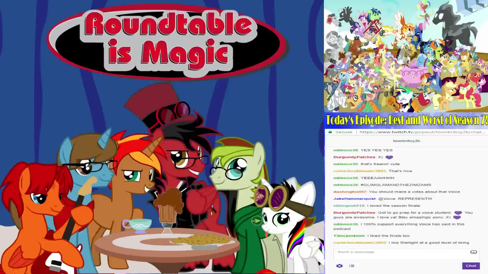 Roundtable is Magic 82: Best and Worst of Season 7 - Twitch