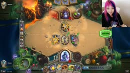 Eloise silence priest vs Zoolock [Hearthstone]