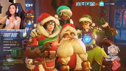 Opening Christmas Overwatch Loot boxes