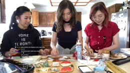baking cookies for twitch chat <3