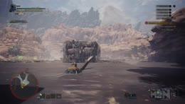 MAN vs MONSTER HUNTER WORLD (PS4 Pro)