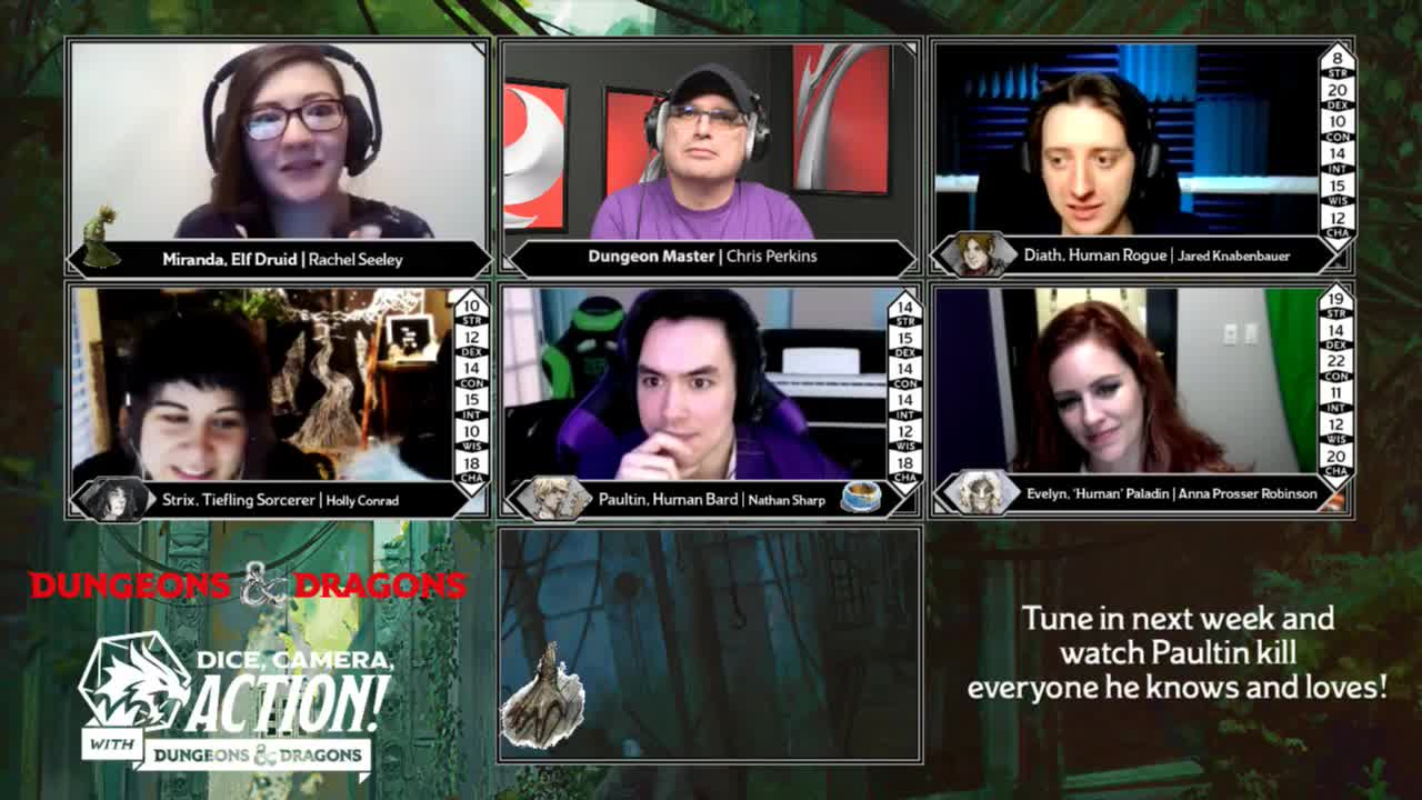 dungeons and dragons twitch