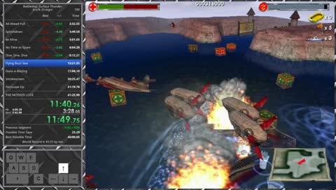 Battleship: Surface Thunder Any% Ensign in 41:16.95