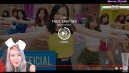 Jenna dances to Likey by Twice