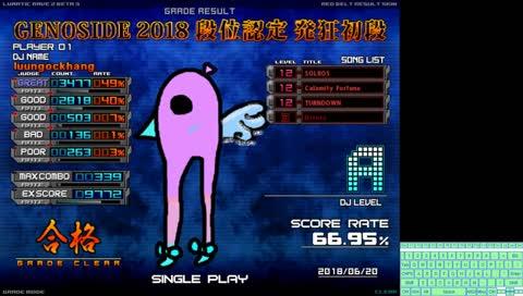 [発狂BMS] Gonna challenge 1st dan! - 初段特攻