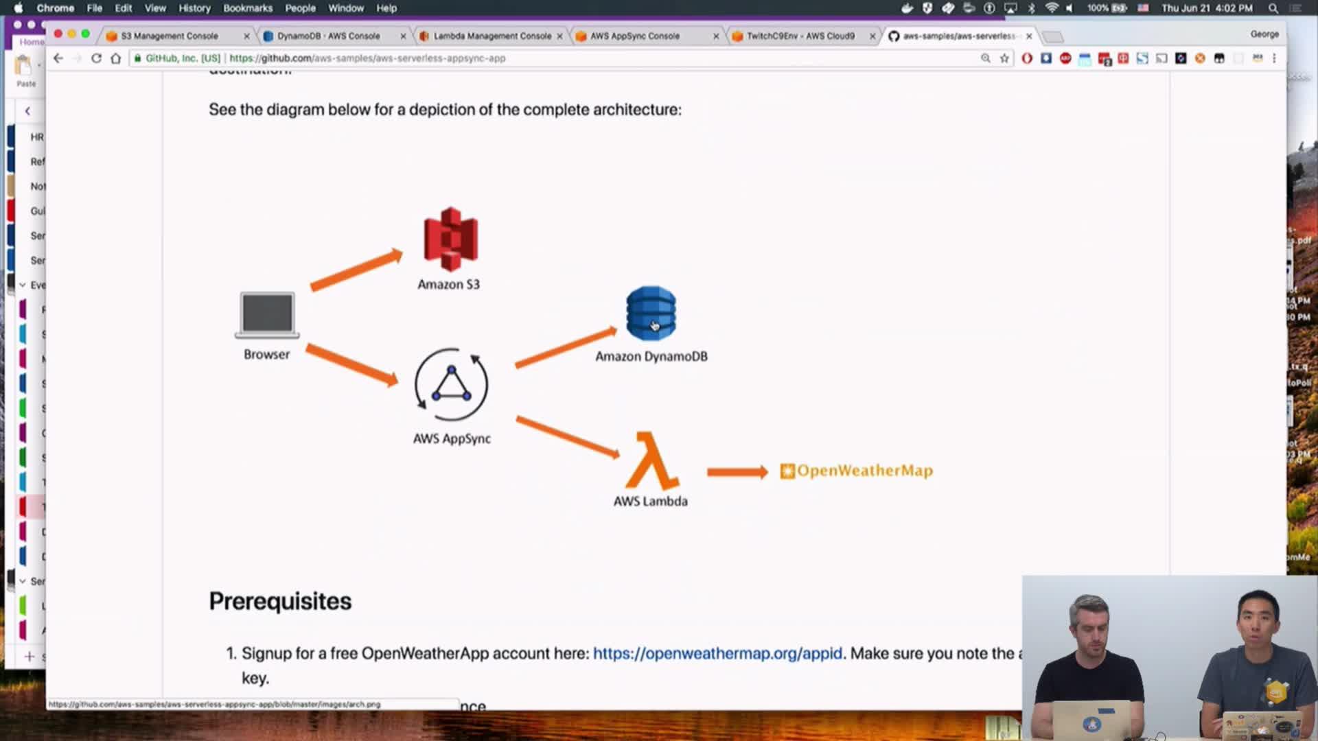 AWS - Serverless Bytes | Build a Serverless Weather App with AWS