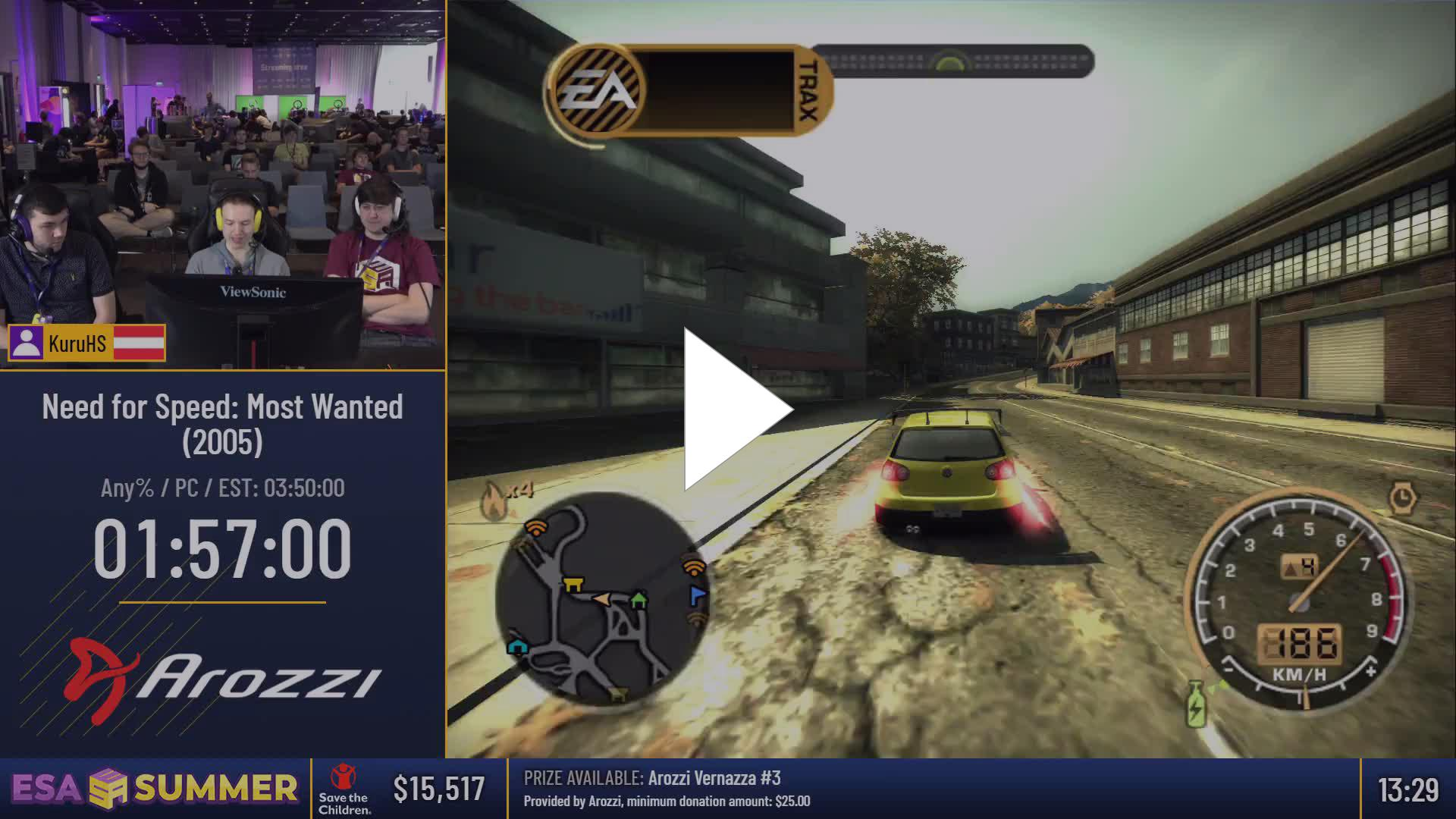 ESAMarathon - #ESASummer18 - Need for Speed: Most Wanted (2005) (Any