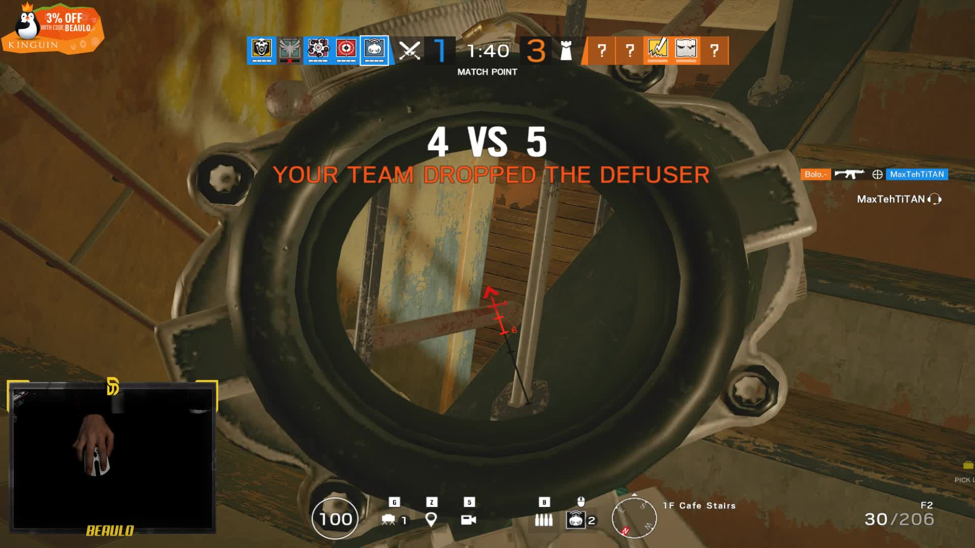 Beaulo - Epic Fragging shall ensue    with a mousecam  - Twitch
