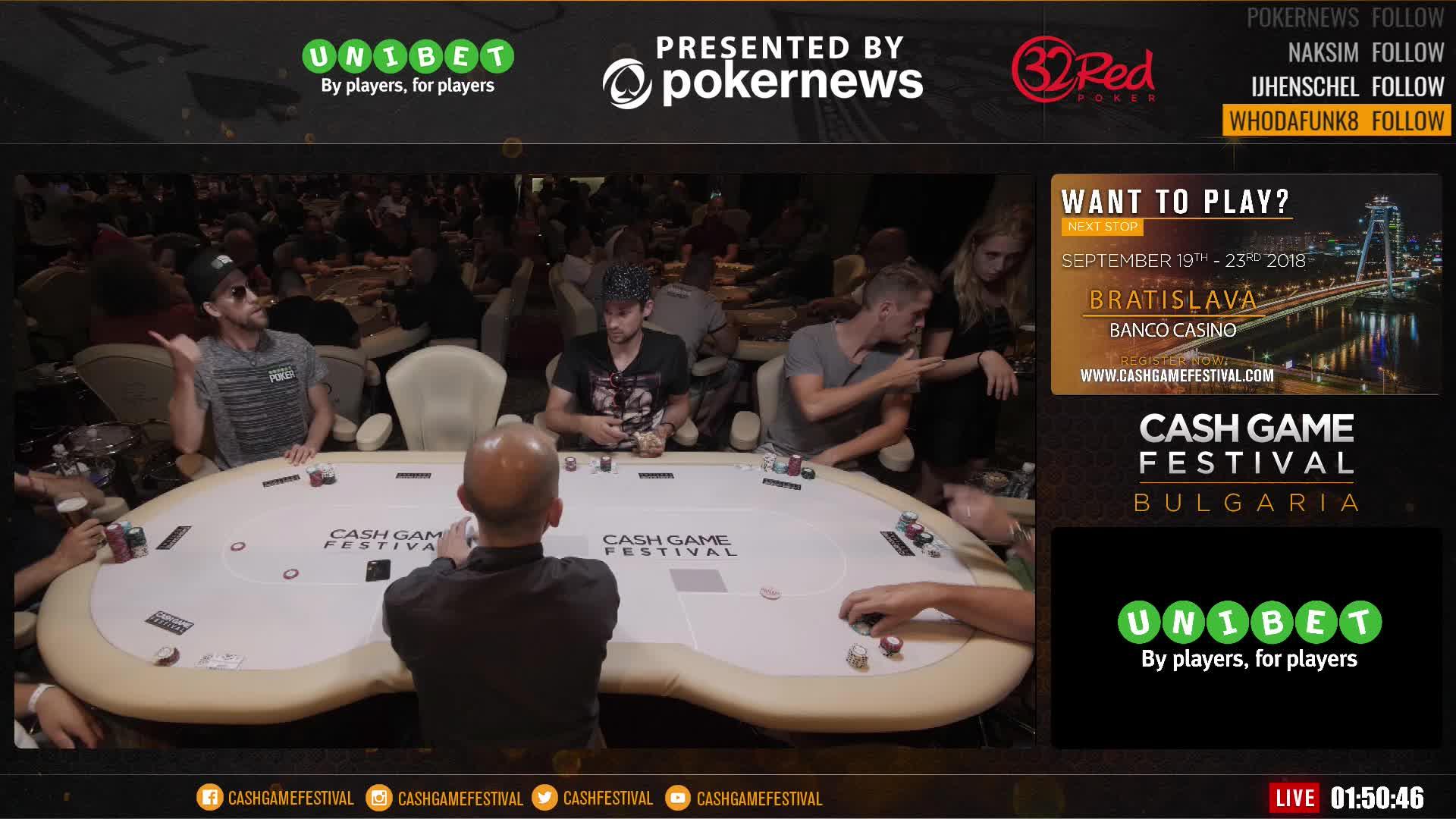 Aspers Poker Cash Race