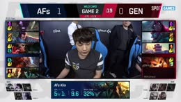 LCK Playoffs: Gen.G vs. Afreeca Freecs