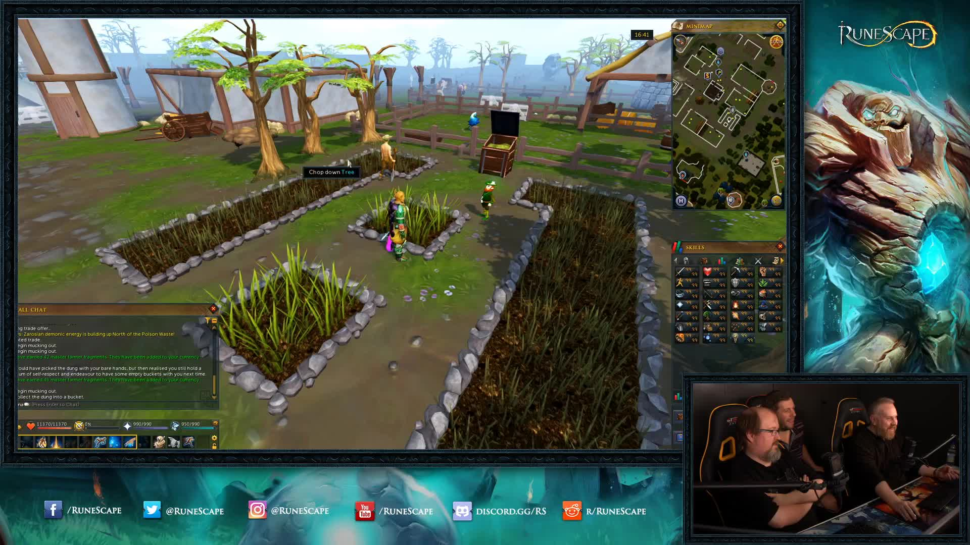 RuneScape - Content Showcase - Player-Owned Farm - Twitch