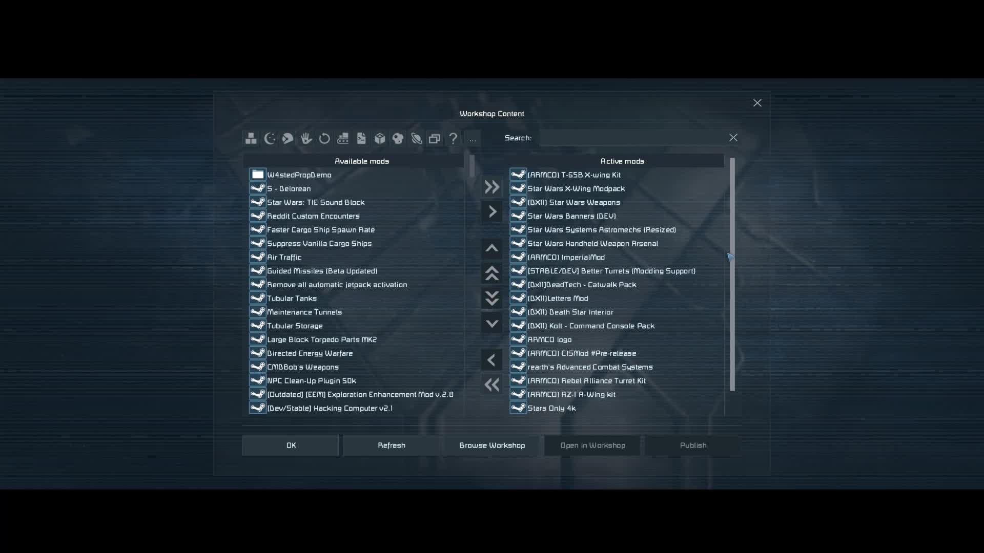 CaptainShack - Space Engineers - Interdictor-class Star