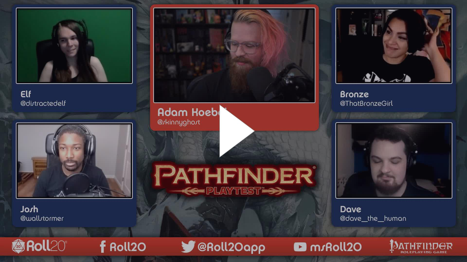Roll20App - Character Creation - Part 01 | The Pathfinder Playtest