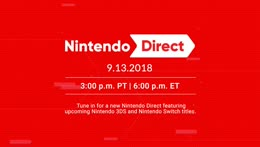 Nintendo Direct 9.13.2018