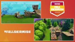 Fortnite #FallSkirmish - Week 1 | HOLD THE THRONE (DUOS)