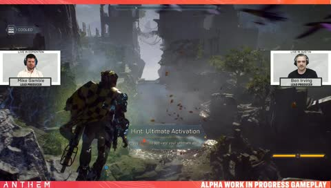 Anthem Developer Livestream featuring Lead Producers, Ben Irving and Mike Gamble. - #AnthemGame