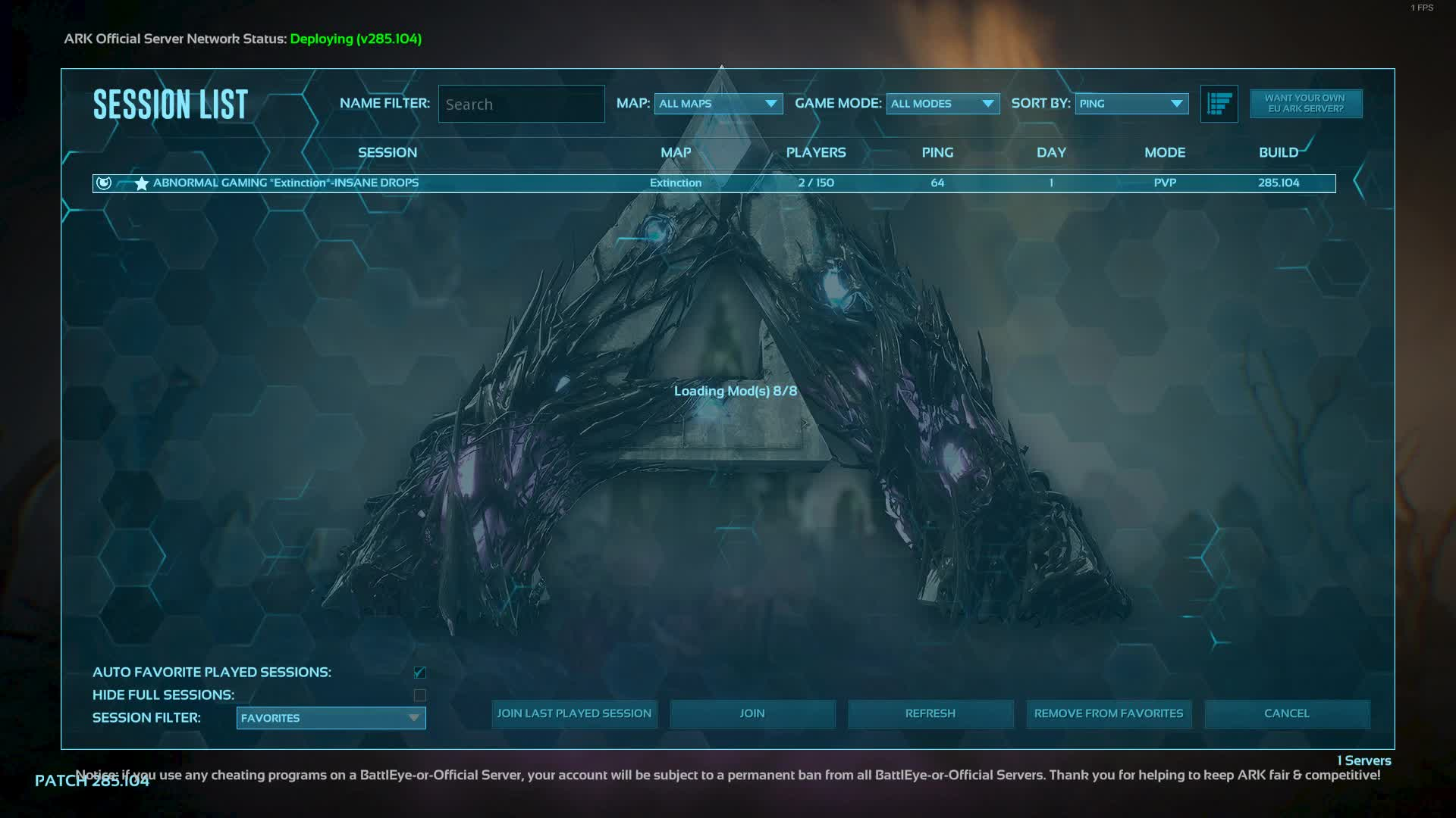 Cyph3r_LIVE - Ark Extinction - Abnormal Gaming - Twitch