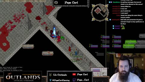 UO Outlands! Grinding for skills and gold! Then! Dungeon! • Papa_Carl  Playing Ultima Online • SNIPACLIP
