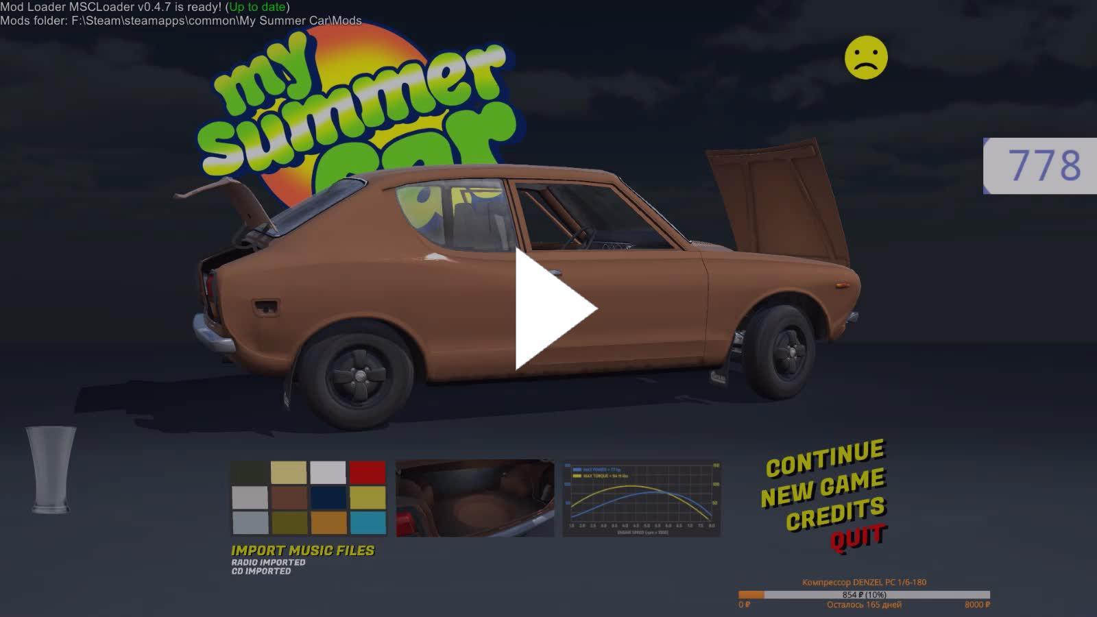 My Summer Car Mods Folder — Lorenzo Masia