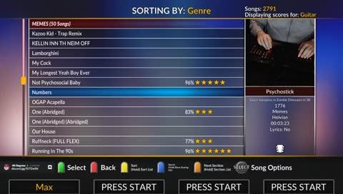 Guitar Hero III: Legends of Rock Game Trending All NL
