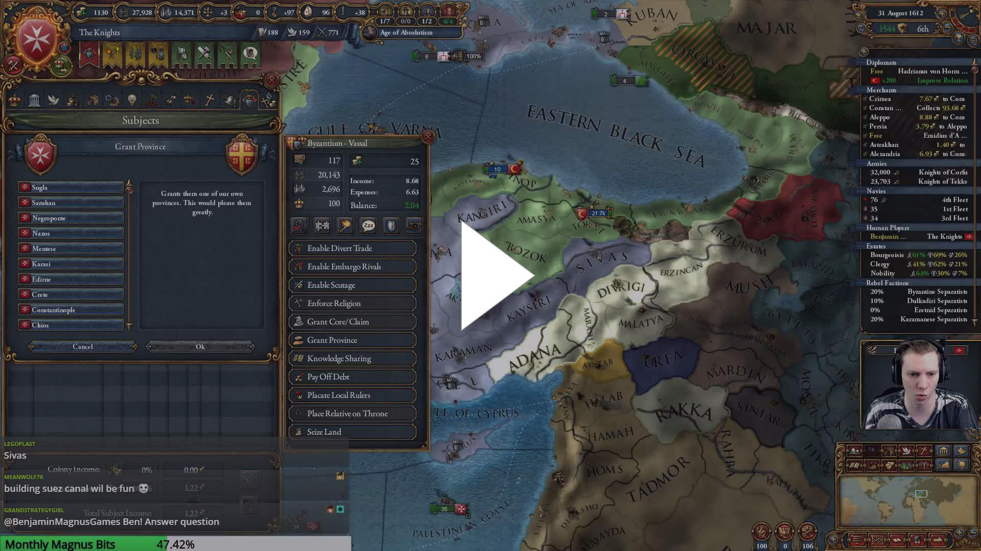 BenjaminMagnusGames - EU4 | The Knights | Pirates of the