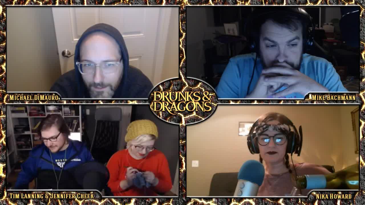 Drunks And Dragons Halloween 2020 GeeklyInc   Twitch