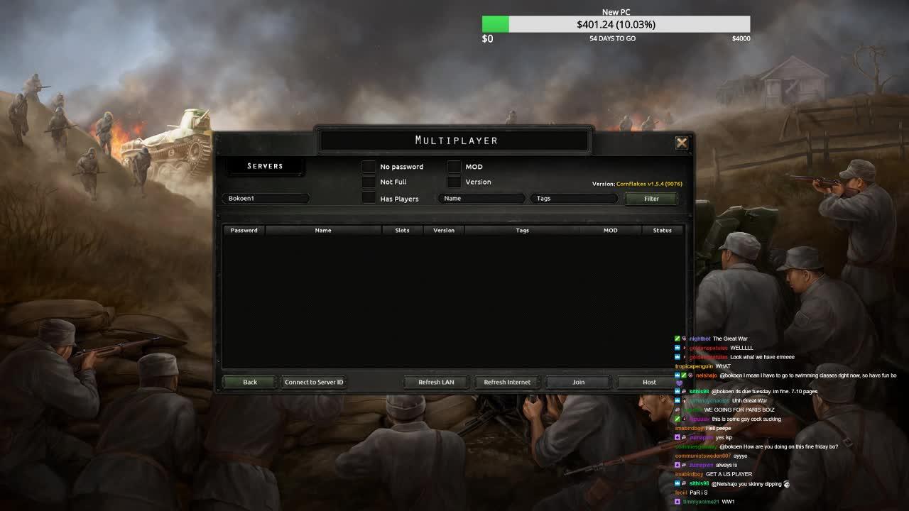 Hoi4 Multiplayer Server Id