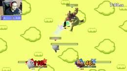 Me (Kirby) vs James (KingK) Part 4