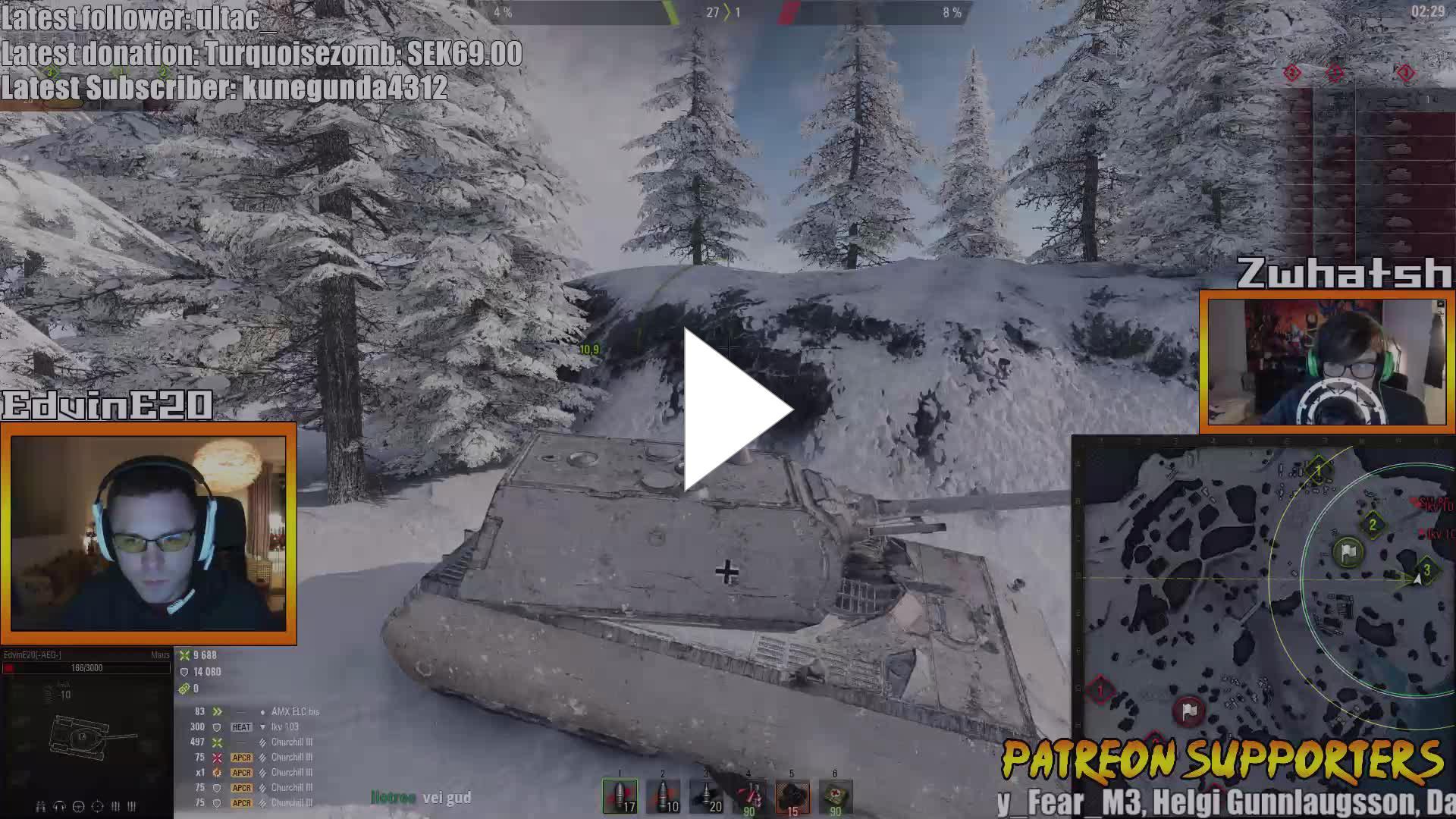 AwesomeEpicGuys - [ENG] World of Tanks Panhard EBR 75 Rental Codes