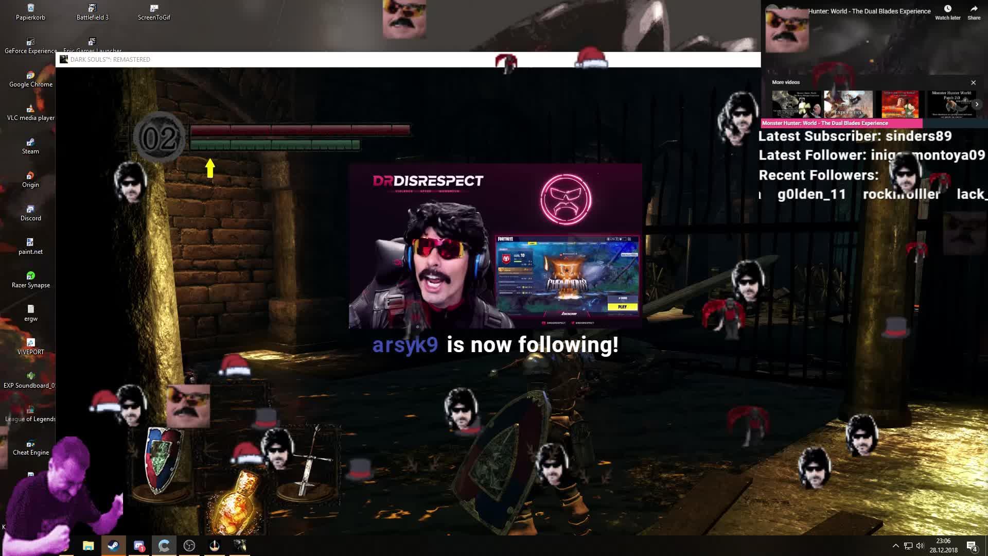SeasTV - Actual DOC raid - Twitch